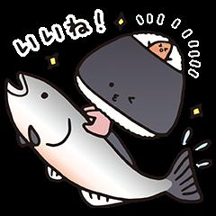 隠し無料スタンプ::KIRIMIちゃん.が描いたスタンプ!