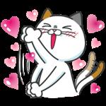 限定無料スタンプ::タマ川 ヨシ子(猫)新作スタンプ第8弾♪