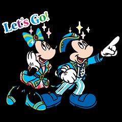隠し無料スタンプ::東京ディズニーシー 15周年記念スタンプ