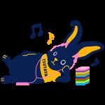 隠し無料スタンプ::TSUTAYA 選ぼウサギ