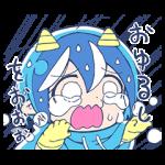 人気スタンプ特集::泣き虫!悪魔のメムメムちゃん(四谷啓太郎)