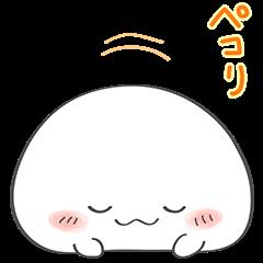 限定無料スタンプ::おもちちゃん 第2弾!