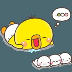人気スタンプ特集::ひよこのぴっぴ【きほん】