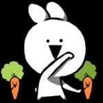 人気スタンプ特集::すこぶる動くクレイジーウサギ4