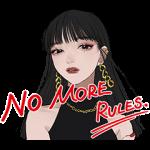 隠し無料スタンプ::KATE NO MORE RULES.