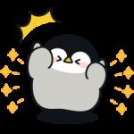 限定無料スタンプ::心くばりペンギン×プロたん&サリー