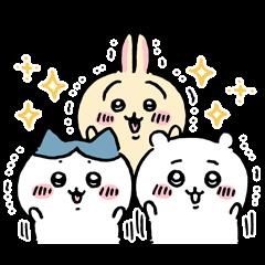 限定無料スタンプ::ちいかわ × LINEバイト