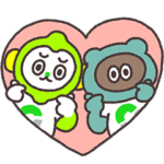 限定無料スタンプ::たぬきゅん × LINEMO(ラインモ)