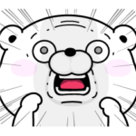 限定無料スタンプ::うさぎ&くま100%×LINEスキマニ